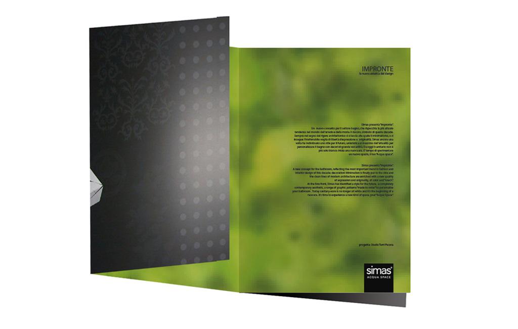 impronte book design