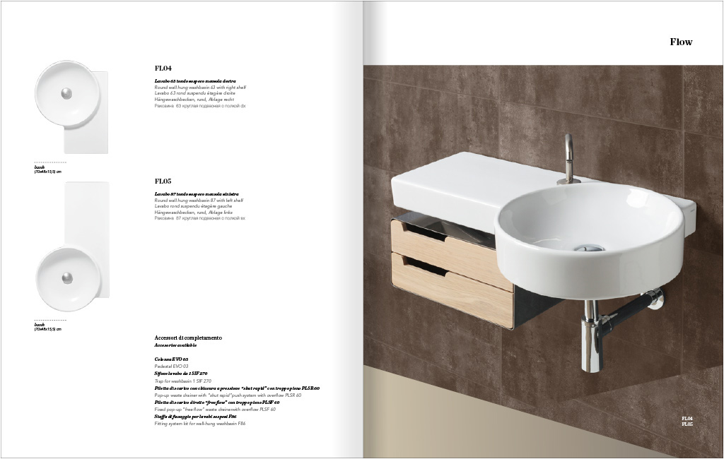 washbasin design impagination