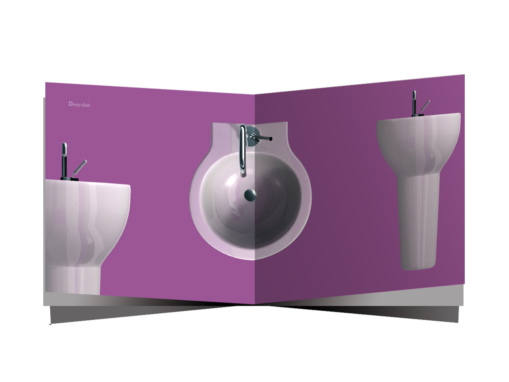 bathroom catalog design