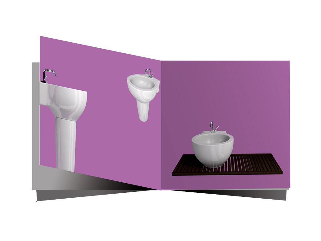 bathroom catalog design
