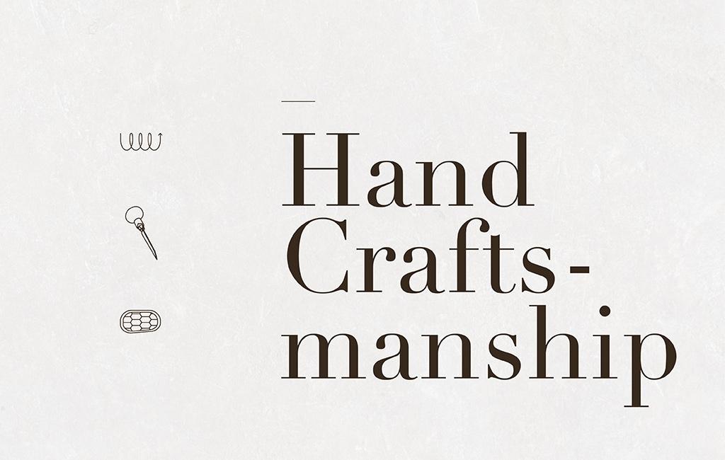 logo hand crafts design