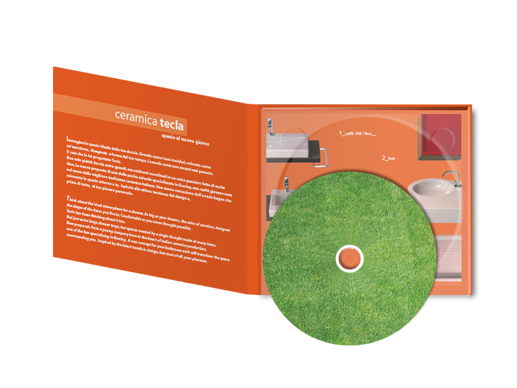 CD catalog design