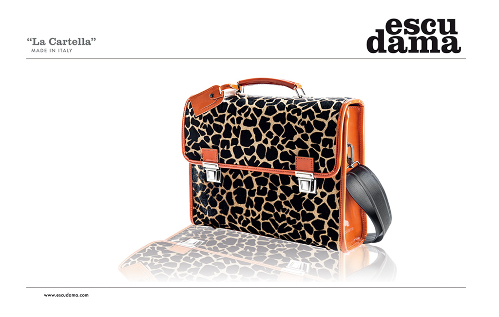 bag leopard design
