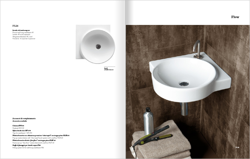washbasin design impagination