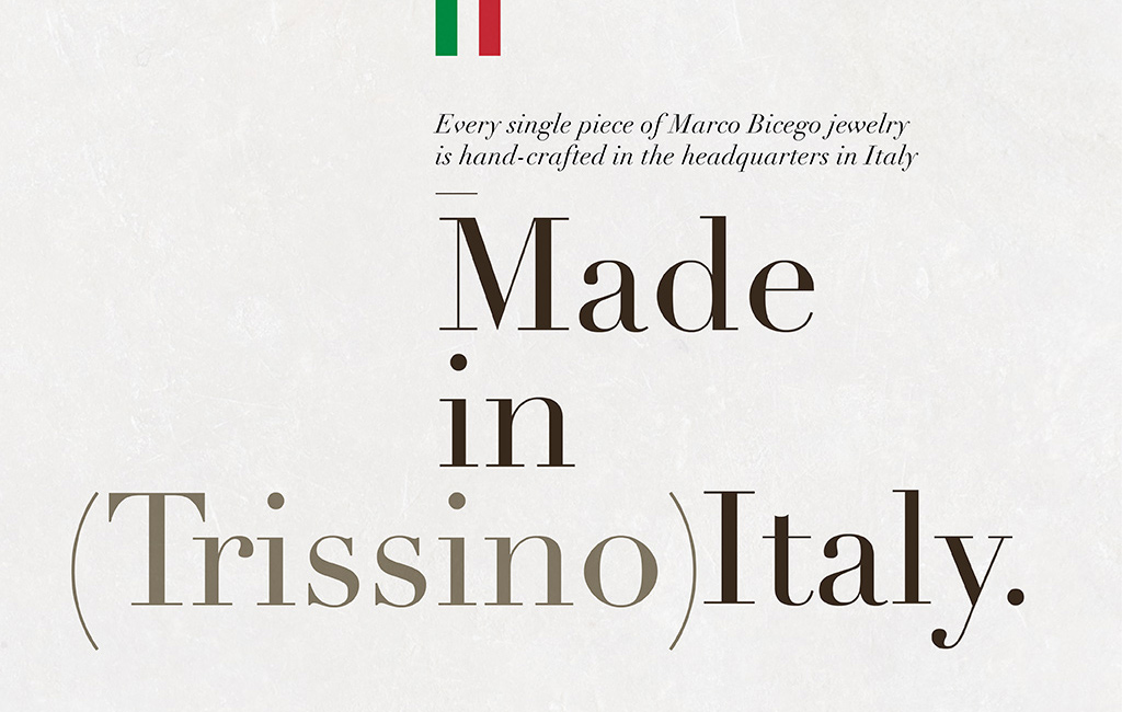 made in italy design